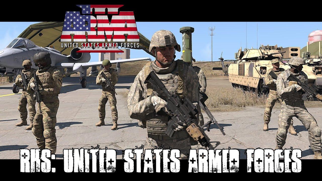 RHS: Escalation - United States Armed Forces - ArmA 3 Mod