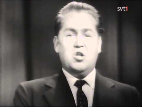 Jussi Björling - Till Havs Live Swedish Television 1958