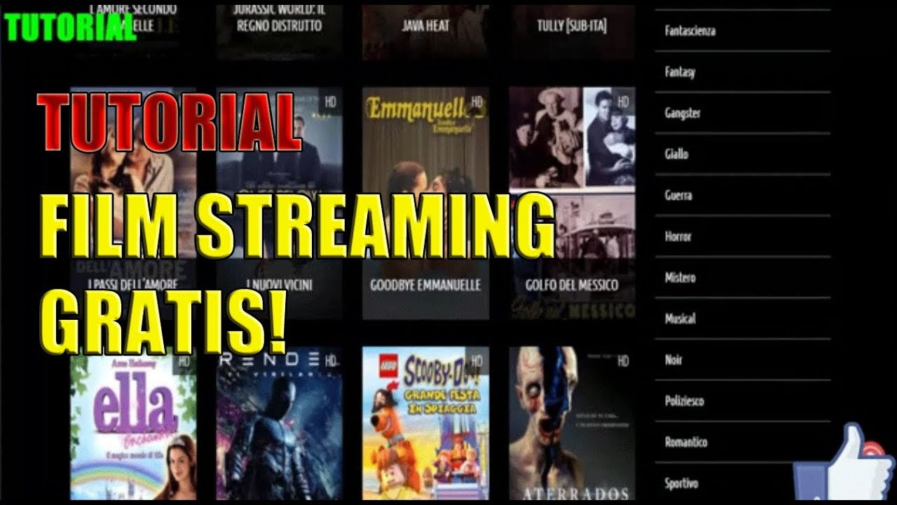 COME GUARDARE FILM IN STREAMING GRATIS DAL VOSTRO PC – tutorial [ITA]