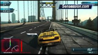 NFS01 Need For Speed Most Wanted Gameplay: Lamborghini G Vs Lamborghini A