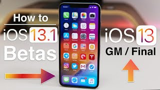 iOS 13 GM - How to Install if you are on a beta