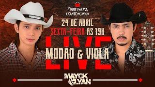 Live Mayck E Lyan - Modão E Viola | #fiqueemcasa E Cante #comigo