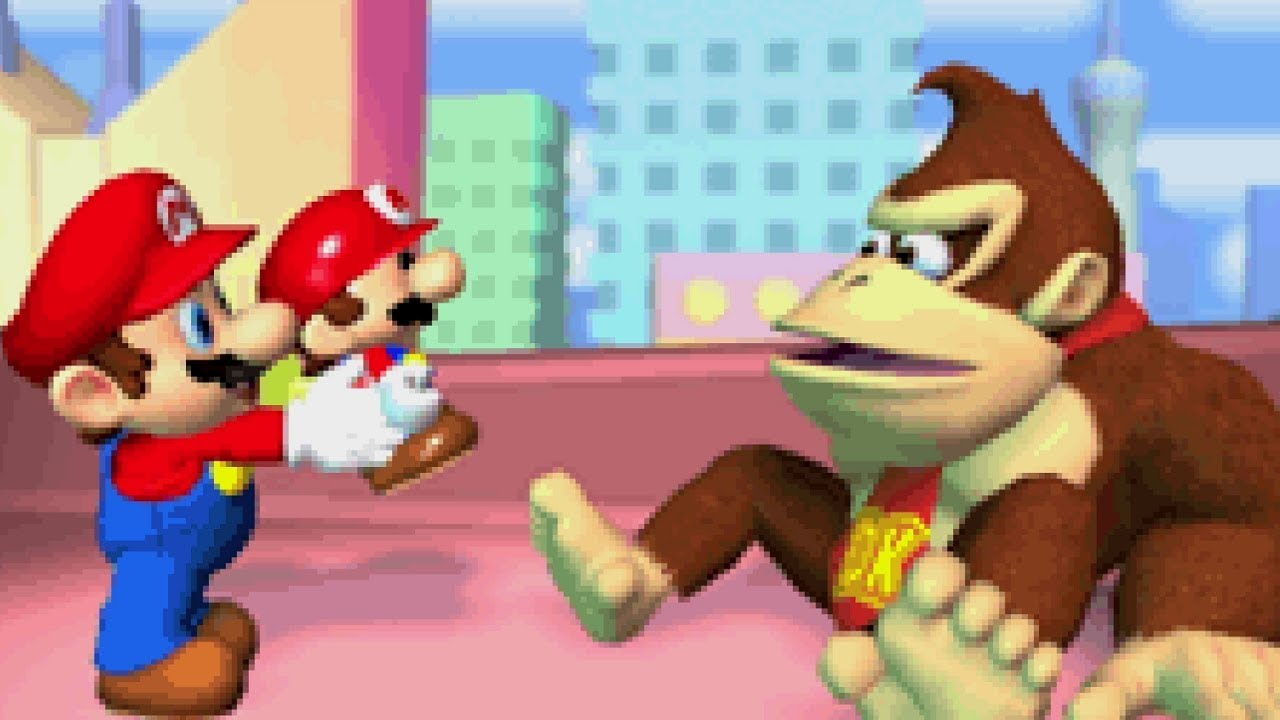 Mario Vs Donkey Kong For Gba Mario Vs Donkey Kong All Boss Fights Plus Worlds