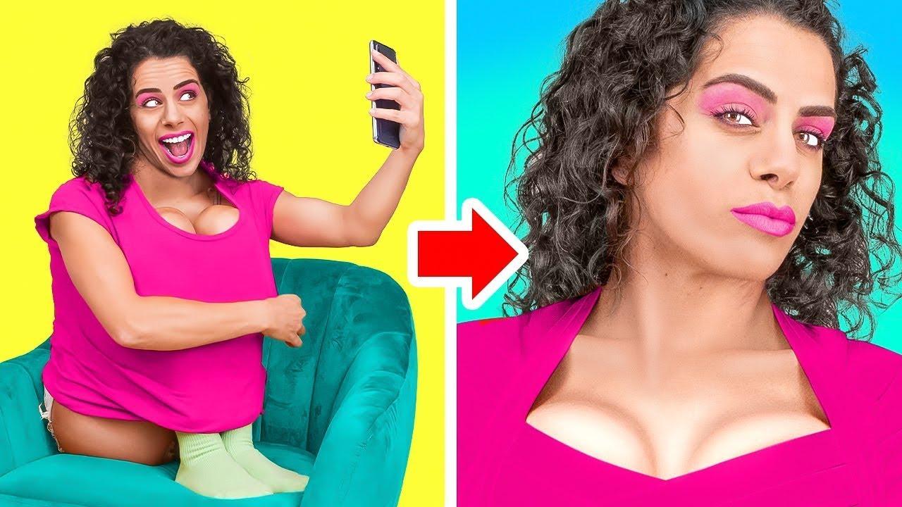 TikTok VS Instagram VS Realitas - CUPU jadi POPULER | Teman Sejati VS Palsu oleh Dunia La La