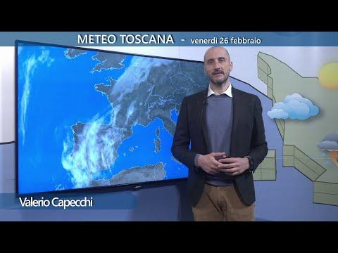 Il meteo per il fine settimana in Toscana - giornate stabili e soleggiate con calo delle temperature