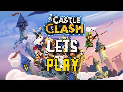 Castle Clash - Lets Play And Chat