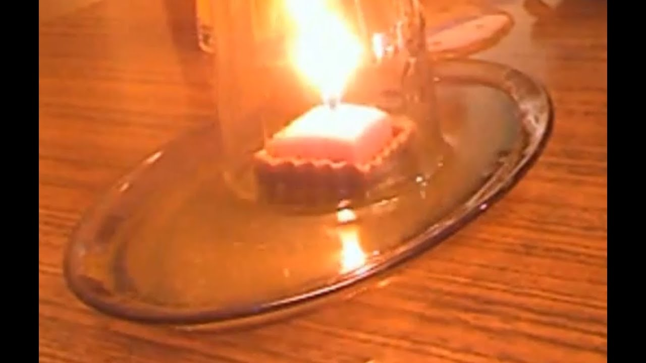 Candle and Water - Cool science experiment - YouTube
