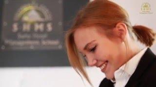 Юлия - студентка Swiss Hotel Management School (Swiss Education Group)