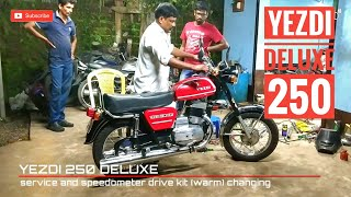 How To Install Speedometer Drive Kit | Yezdi deluxe 250