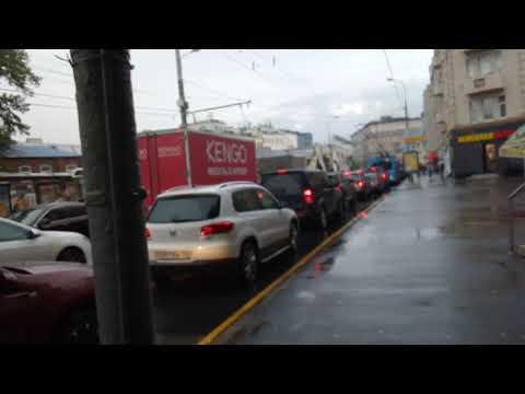 Москва 219 улица Грузинский Вал лето день