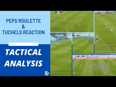 Pep & Tuchel's Tactical Battle | Man City v Chelsea Tactical Analysis