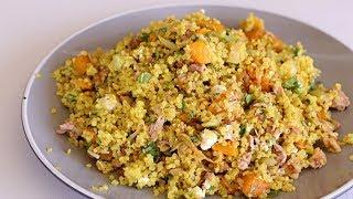 Quinoa Pumpkin & Zucchini Salad Recipe