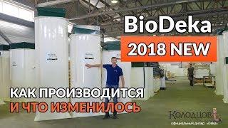 Септик Биодека 2018: обзор модернизаций загородной канализации Biodeka