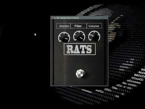rat guitar pedal vst plugin download youtube. Black Bedroom Furniture Sets. Home Design Ideas