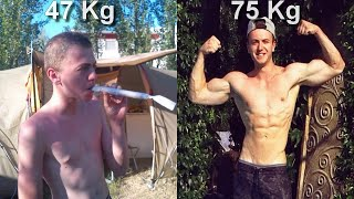 FROM WEED ADDICT TO CALISTHENICS - MY  BODY TRANSFORMATION JOURNEY