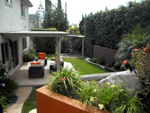 Ideas para un jardin youtube for Antejardines rusticos