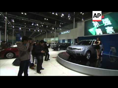 Luxury autos shine at Beijing car show
