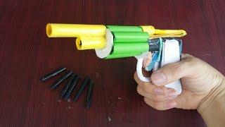 Cara membuat pistol revolver menggunakan kertas | gun kertas