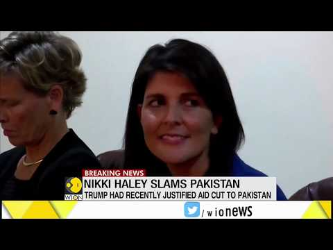 Breaking News: Nikki Haley slams Pakistan over terrorism