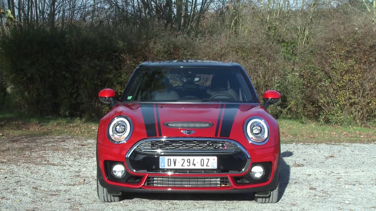 Mini Clubman Cooper S Red Hot Chili 20i 192ch Youtube