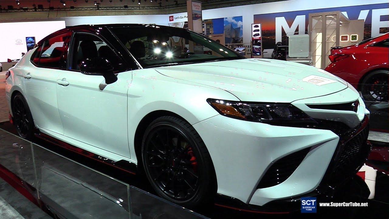 2020 Toyota Camry Trd Exterior Walkaround 2018 La Auto Show
