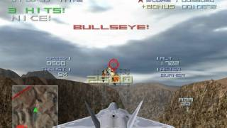 Top Gun - Combat Zones (PC) my favorite mission (canyon)