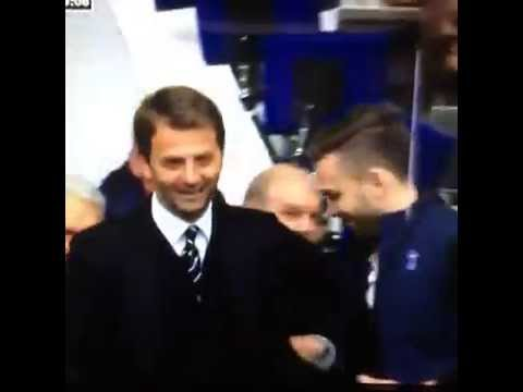 Tim Sherwood lets a fan act as manager for 5 minutes vs Aston Villa