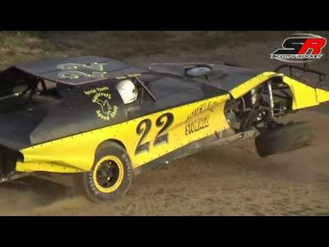 UMP Modified, Heat 2, 6-18-2016, Butler Motor Speedway