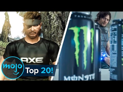Top 20 Video Games with Shameless Product Placement
