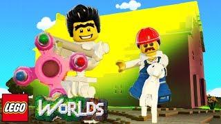 O MELHOR PINTOR QUE VOCÊ JÁ VIU! - LEGO Worlds #05