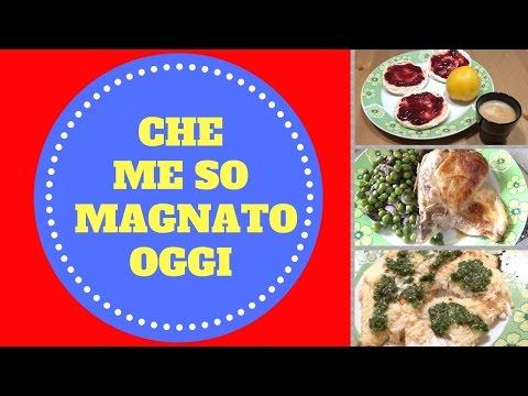 CHE ME SO MAGNATO OGGI (WHAT I EAT IN A DAY) 18-08-16