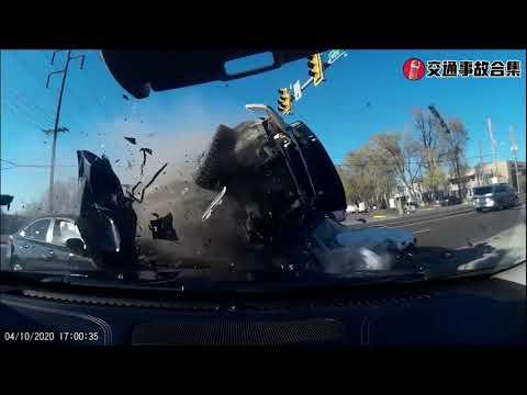 交通事故 | 脾气就是那么坏, 所以搞到如此下场! 車cam记录交通事故合集 | car crashes