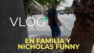 Vlogging en familia y Nicholas Funny - Pixel 2 XL