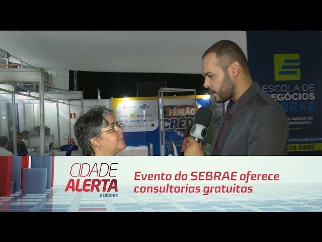 Evento do SEBRAE oferece consultorias gratuitas para empresários
