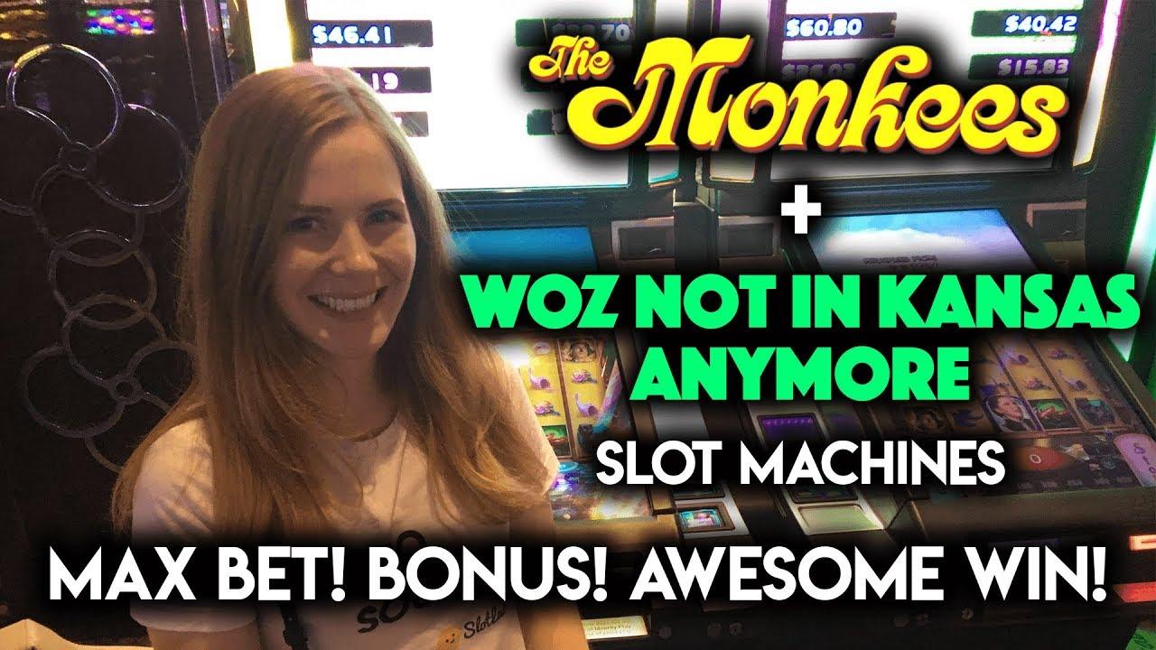 bb5bbdcdb1d92 So Many Progressive WINS on Wizard of OZ Not in Kansas Anymore Slot  Machine!!!
