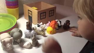 Купили игрушки Дикие животные)))/Wild animals toys