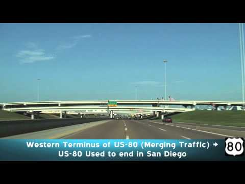 I-30 West - Morning: Dallas Texas
