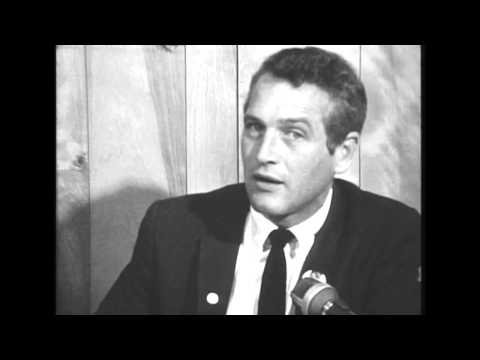 Paul Newman visit to Ball State University, 1968