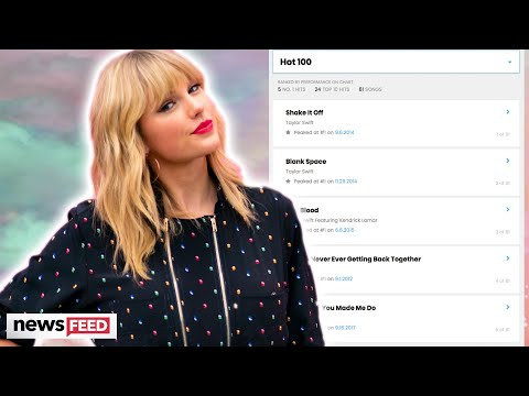 Taylor Swift Ties With This Famous Singer For Most Top 20 Hits On The Hot 100!