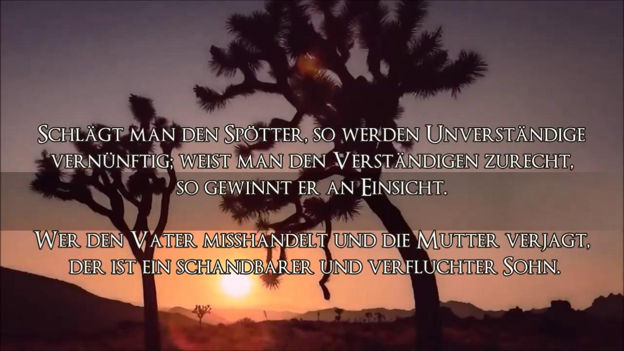 die bibel/die sprÜche salomos kap. 19 - youtube