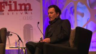 SBIFF 2016 - Johnny Depp on Tim Burton & Edward Scissorhands