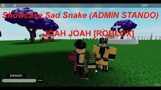 Showcase sad snake (admin stand) à Joah Joah [ROBLOX]