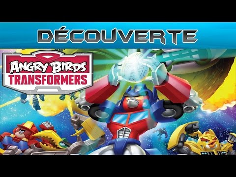 Découverte - Angry Birds Transformers