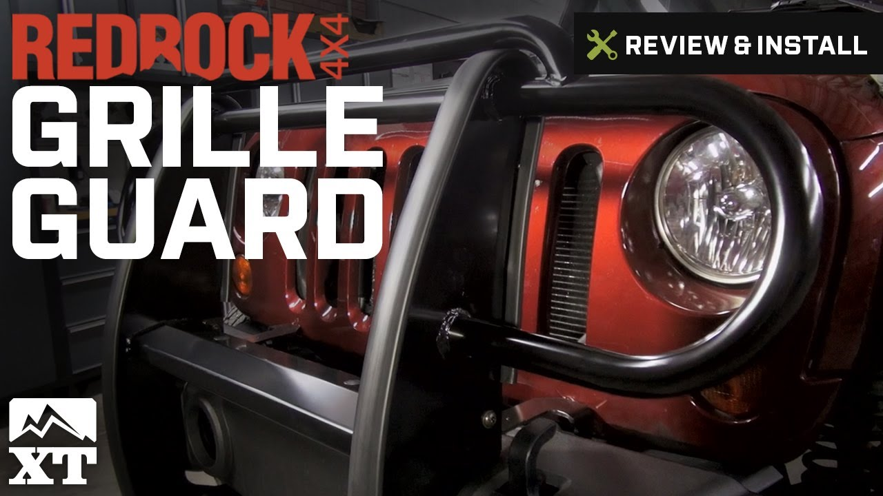 Jeep Wrangler RedRock 4x4 Grille Guard (2007 2016 JK) Review U0026 Install