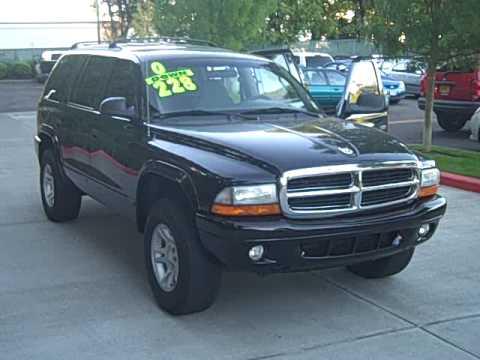 2003 Dodge Durango SLT 4x4 Stock #PK5450 - YouTube