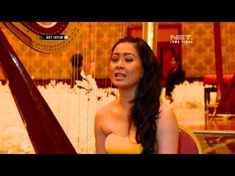 Maya Hasan Pemain Musik Harpa - NETJATIM