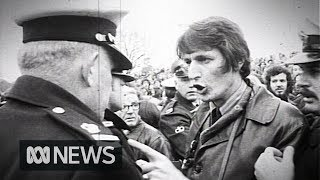 Violent clashes as South African rubgy team visits Melbourne (1971) | RetroFocus