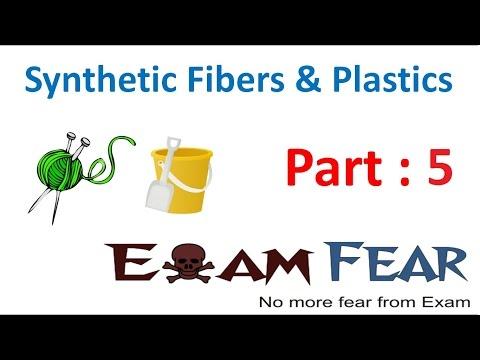 Chemistry Synthetic Fibers & Plastics Part 5 (Nylon) Class 8  VIII