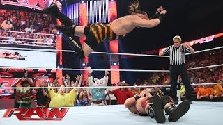 Rob Van Dam vs. Jack Swagger: Raw, May 12, 2014