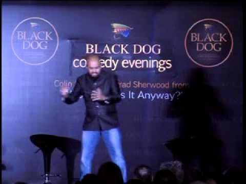 Ashwin Matthew @ Black Dog Comedy Evenings - Alcoholic Grandpa